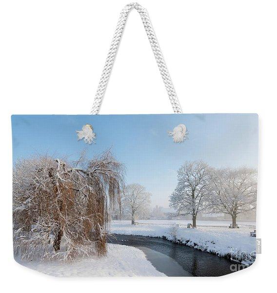 Winter Morning At Sinnigton Weekender Tote Bag