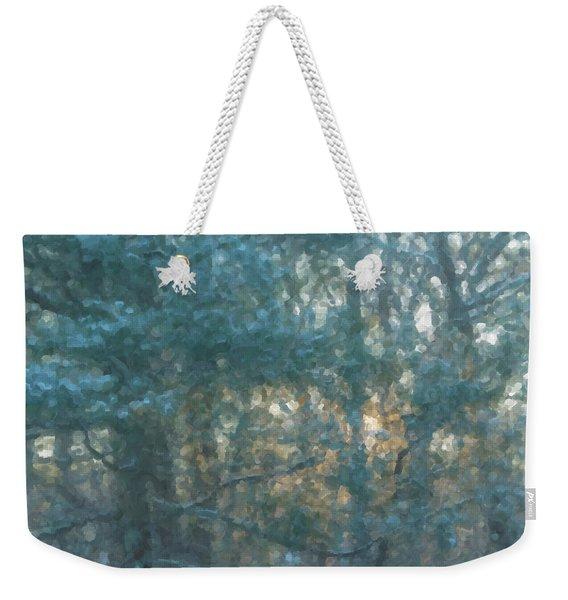 Winter Morning Glory Weekender Tote Bag