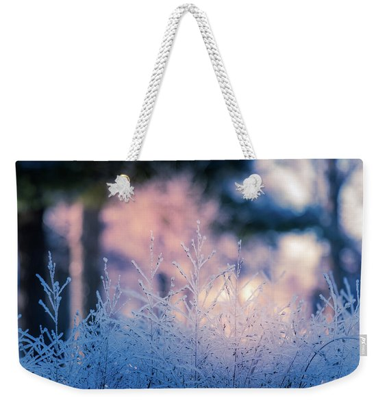 Winter Morning Light Weekender Tote Bag