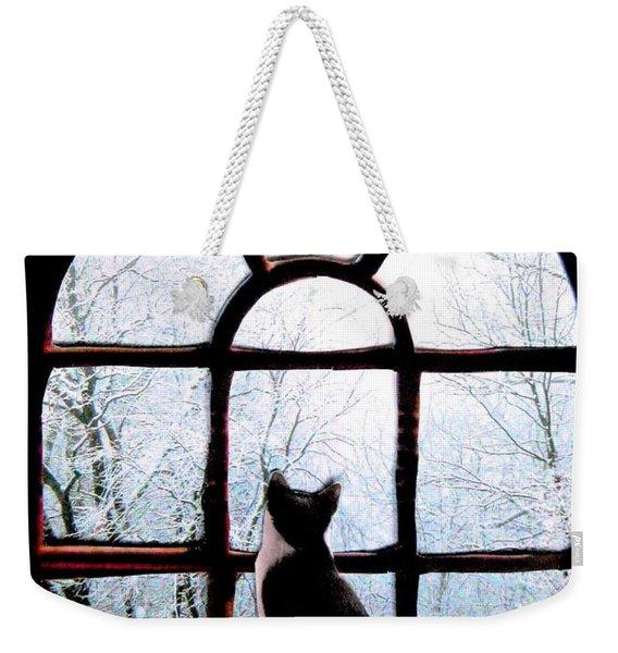 Winter Musing Weekender Tote Bag