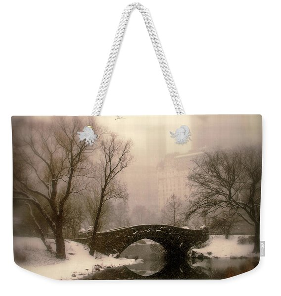 Winter Nostalgia Weekender Tote Bag