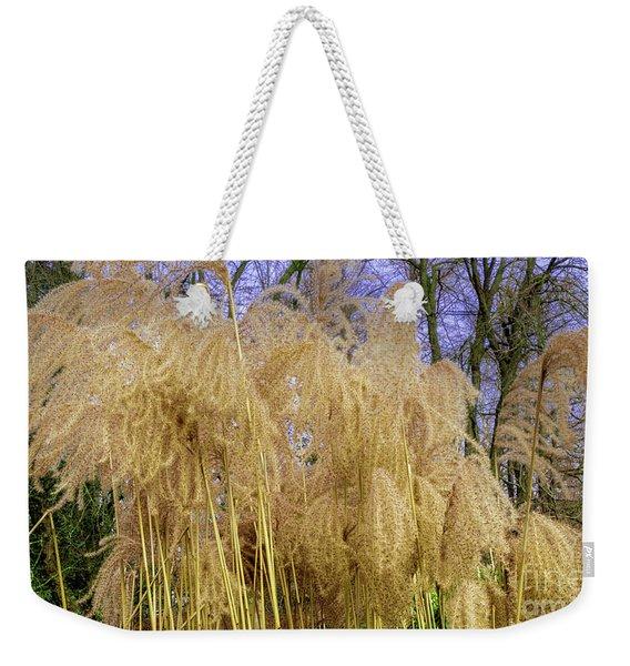 Winter Park Bulrush Weekender Tote Bag