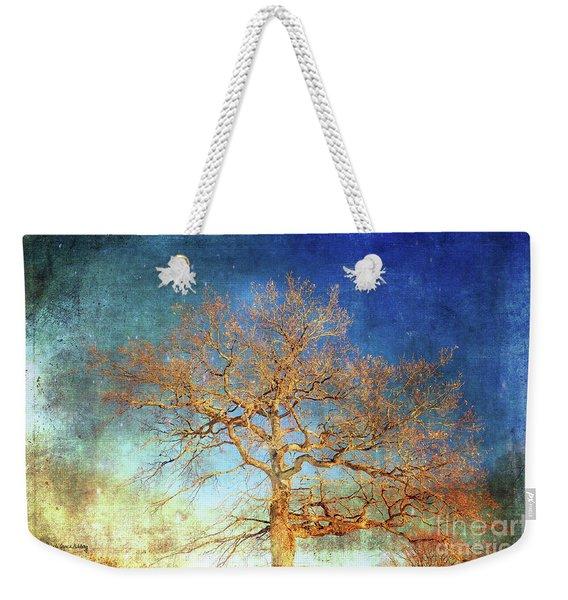 Winter Promise Weekender Tote Bag
