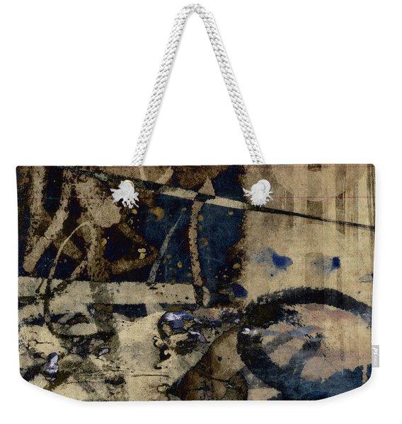 Winter Rains Series One Of Six Weekender Tote Bag