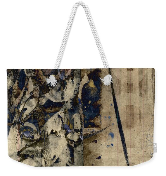Winter Rains Series Six Of Six Weekender Tote Bag