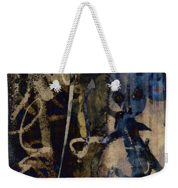 Winter Rains Series Three Of Six Weekender Tote Bag