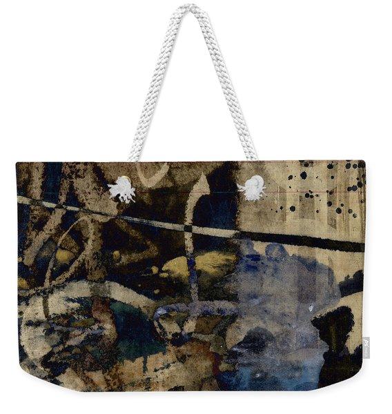 Winter Rains Series Two Of Six Weekender Tote Bag