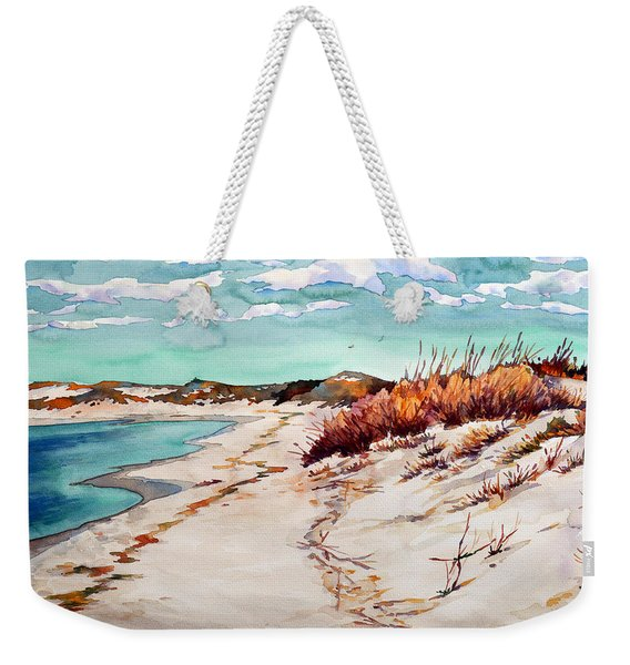 Winter Sands Weekender Tote Bag