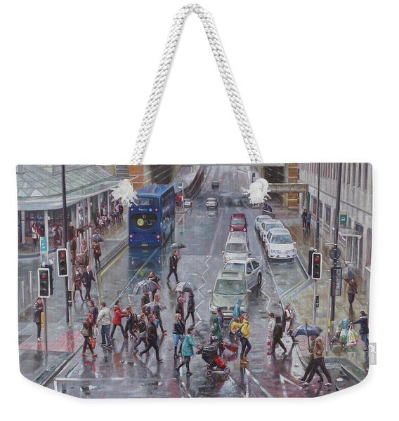 Winter Shopping Season Southampton Weekender Tote Bag