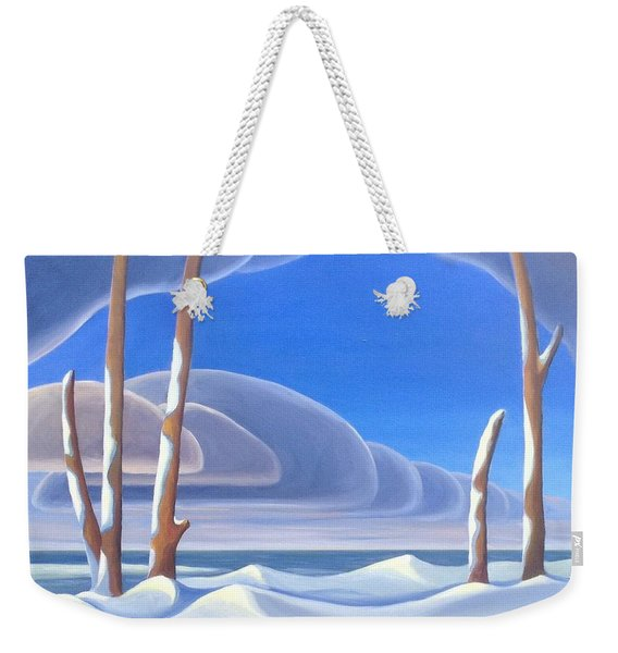 Winter Solace Weekender Tote Bag