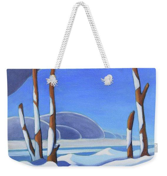 Winter Solace II Weekender Tote Bag