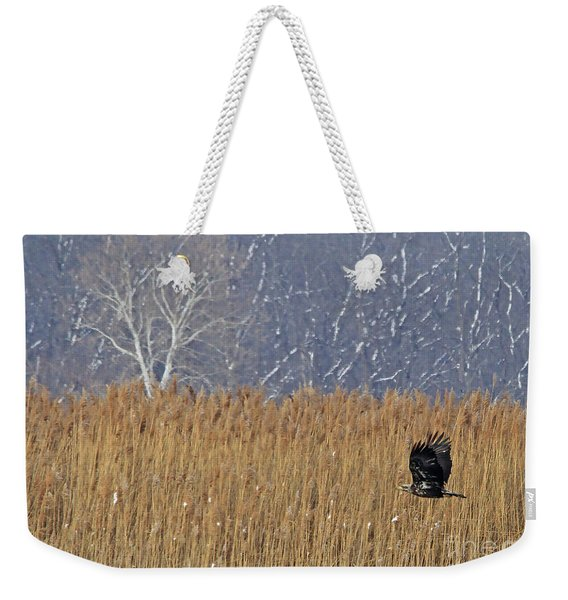 Winter Solace Weekender Tote Bag