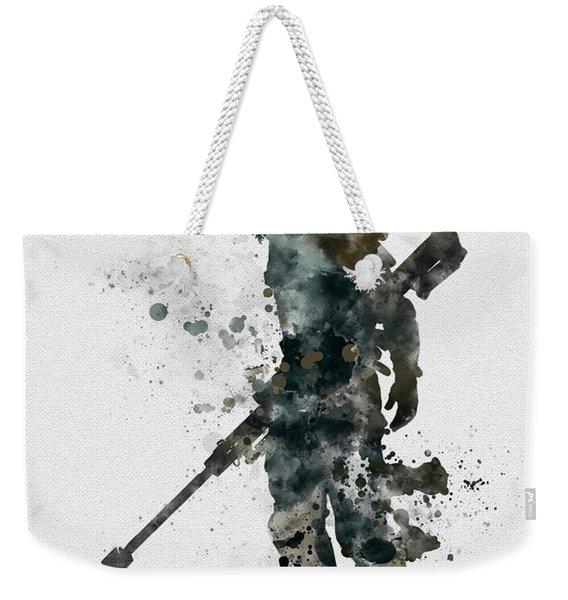 Winter Soldier Weekender Tote Bag
