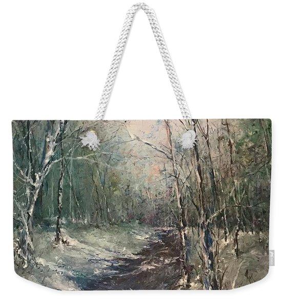 Winter Sojourn Weekender Tote Bag