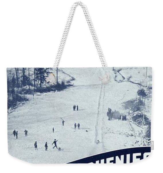 Winter Sports In The Alleghenies Weekender Tote Bag
