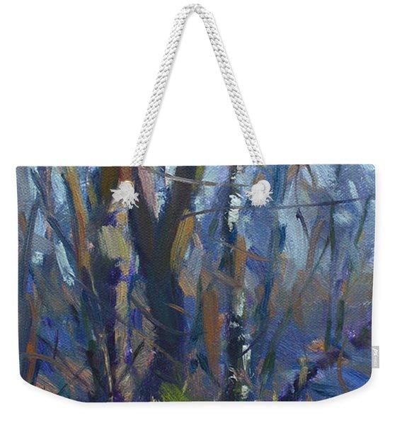 Winter-spring Kiss Weekender Tote Bag