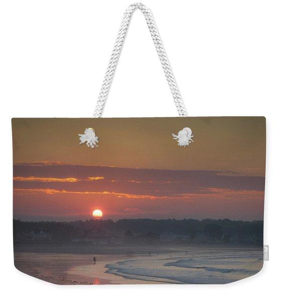 Winter Sunrise - Kennebunk Weekender Tote Bag