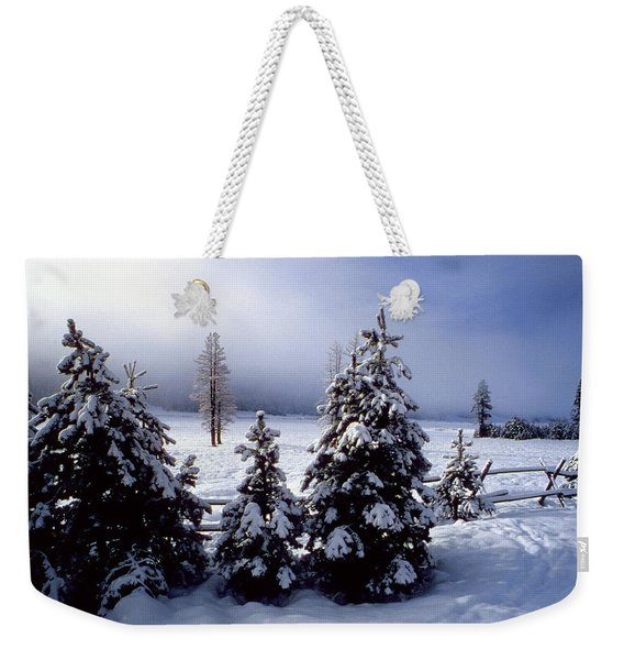 Winter Takes All Weekender Tote Bag