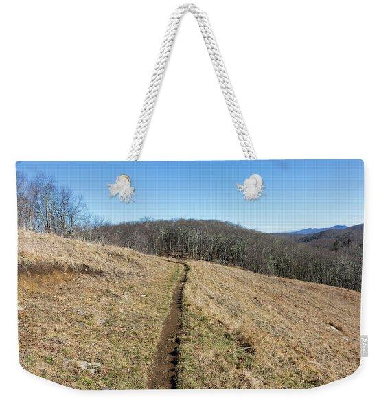 Winter Trail - December 7, 2016 Weekender Tote Bag