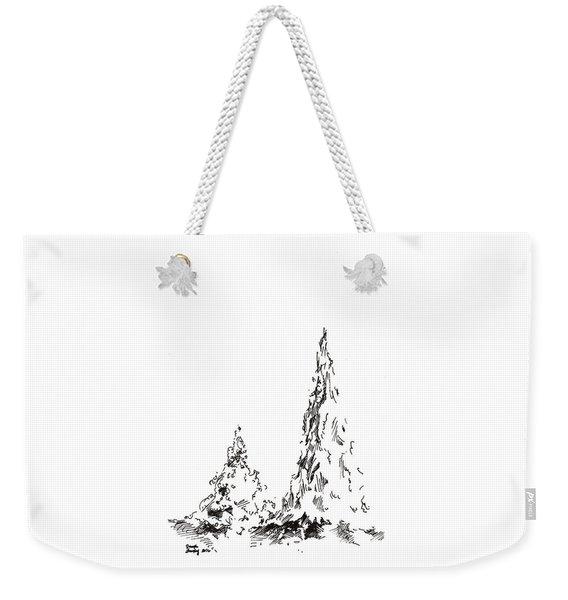 Winter Trees 2 - 2016 Weekender Tote Bag