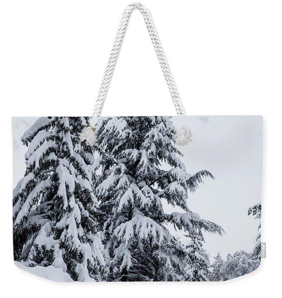Winter Trekking-2 Weekender Tote Bag