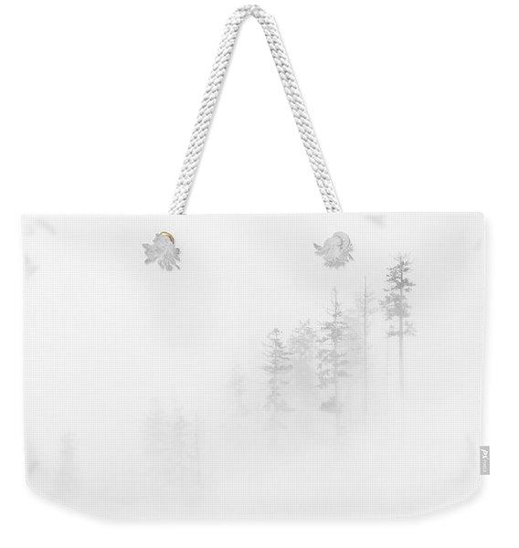 Winter Veil Weekender Tote Bag