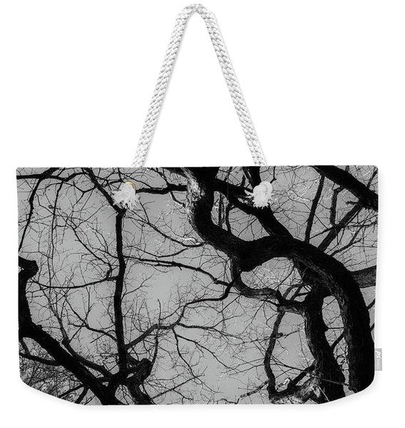 Winter Veins Weekender Tote Bag