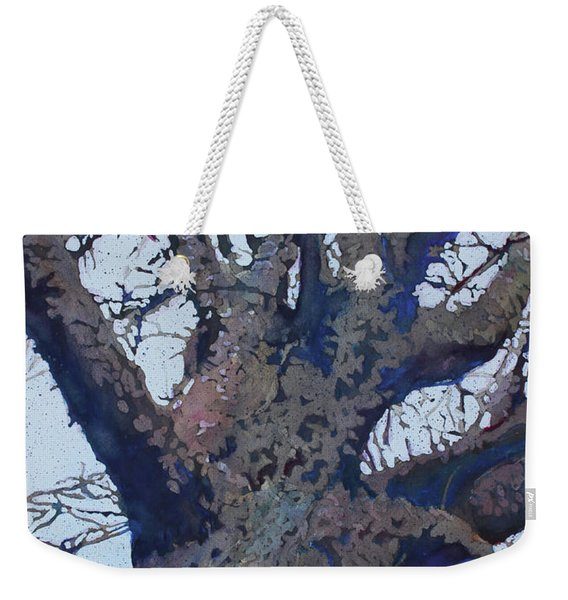 Winter Warrior Weekender Tote Bag
