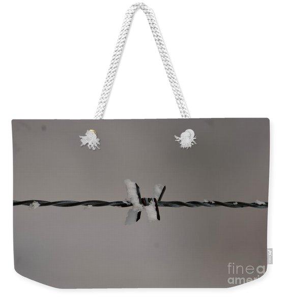 Winter Wire Weekender Tote Bag