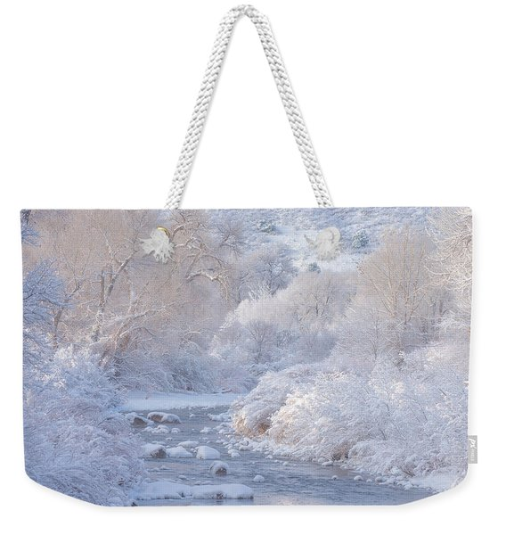 Winter Wonderland - Colorado Weekender Tote Bag