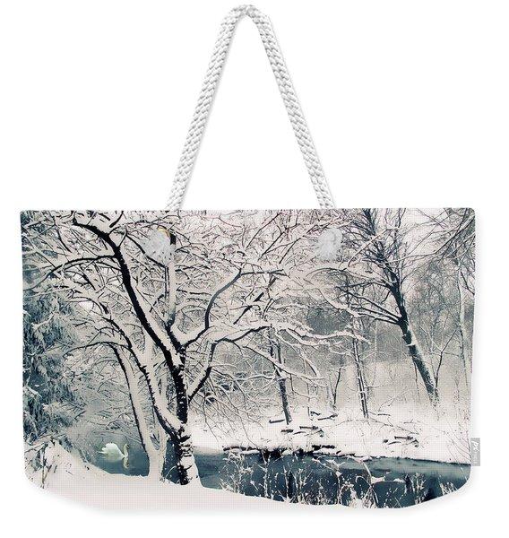 Winter's Charm Weekender Tote Bag