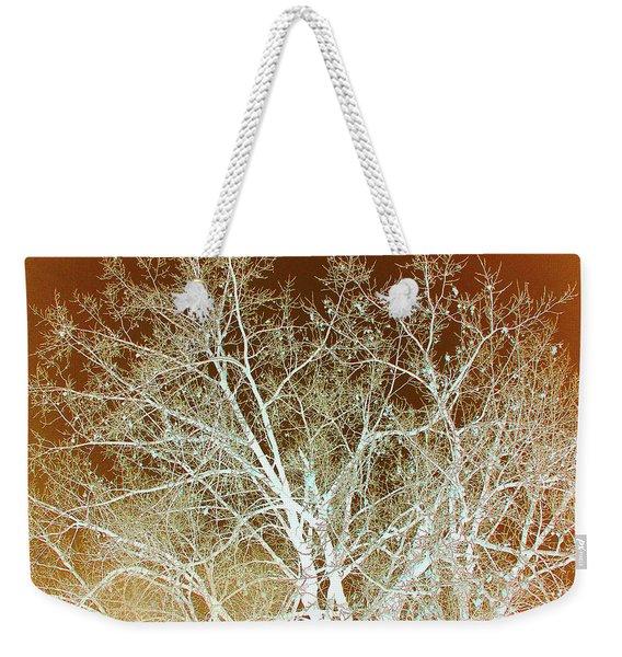 Winter's Dance Weekender Tote Bag