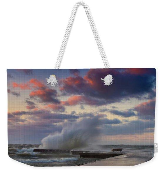 Winters Fury Weekender Tote Bag