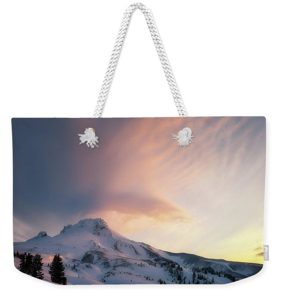 Winters Last Breath Weekender Tote Bag