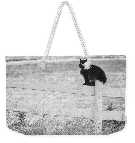 Winter's Stalker Weekender Tote Bag