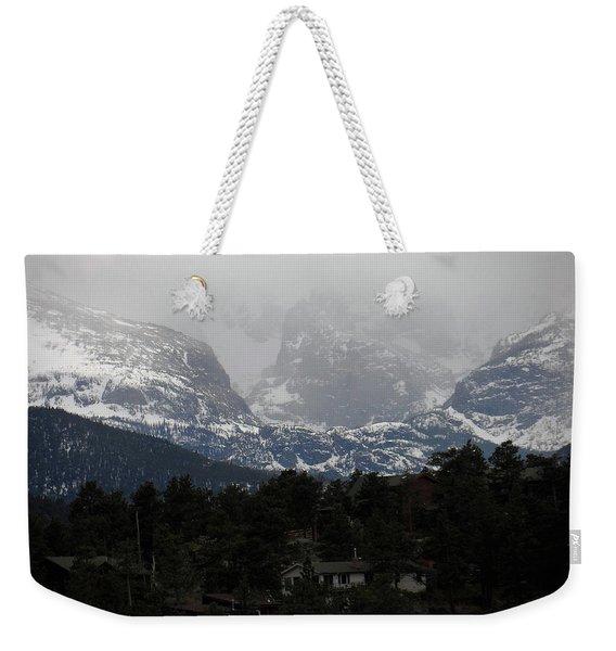 Winters Touch Weekender Tote Bag