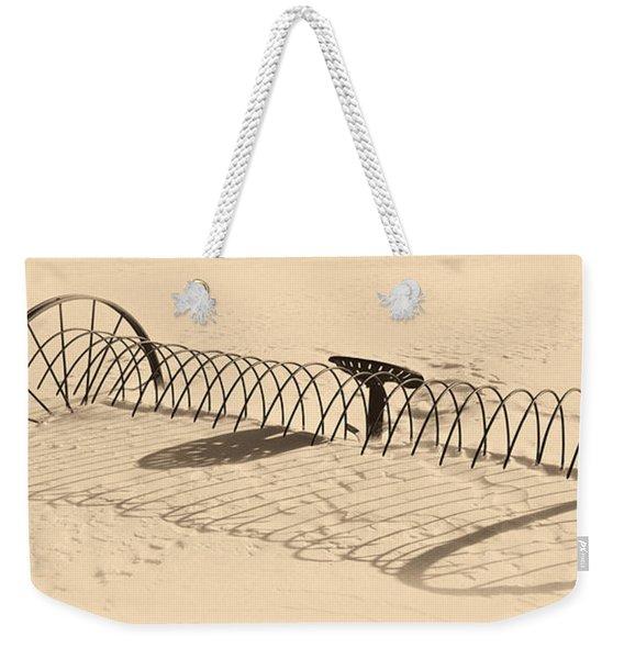 Winters Wait Weekender Tote Bag
