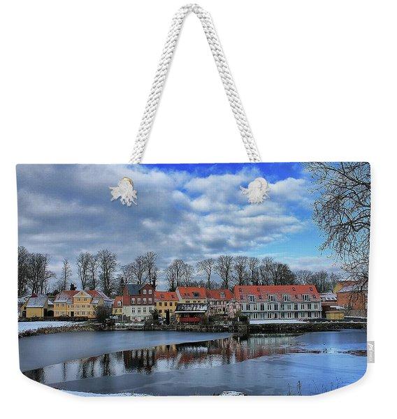 Wintry Nyborg Weekender Tote Bag