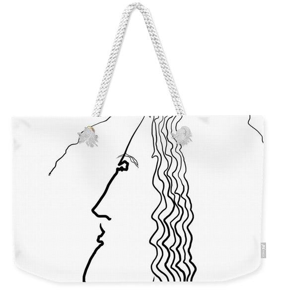 Wire Weekender Tote Bag