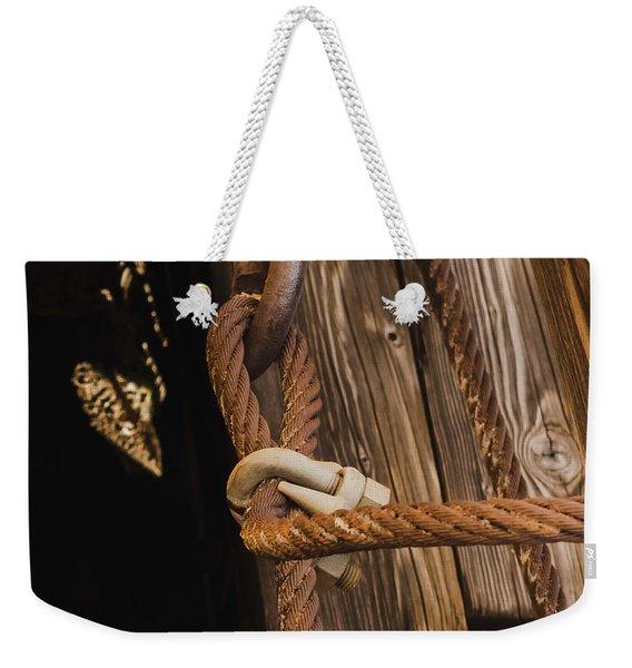 Wire Rope Weekender Tote Bag