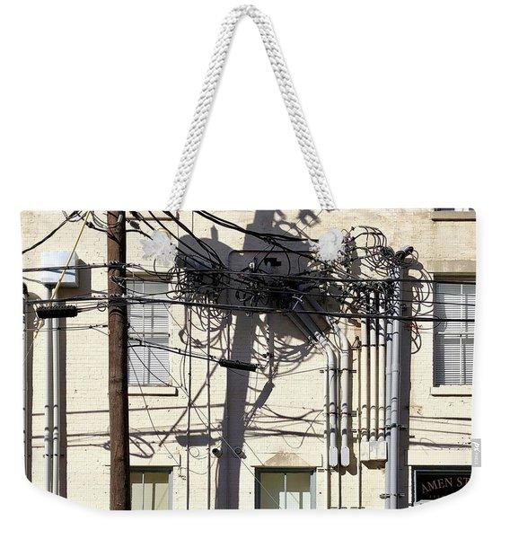 Wired Weekender Tote Bag
