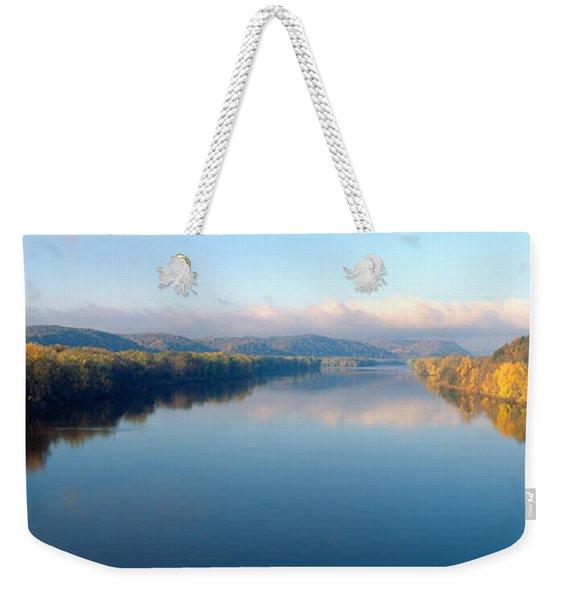 Wisconsin River And Prairie De Chen Weekender Tote Bag