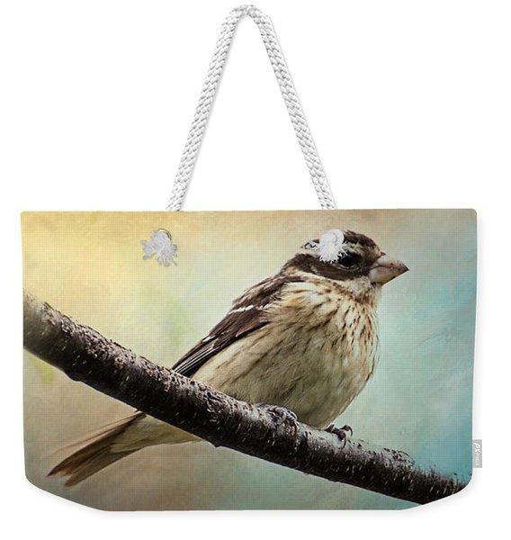Wisconsin Songbird Weekender Tote Bag