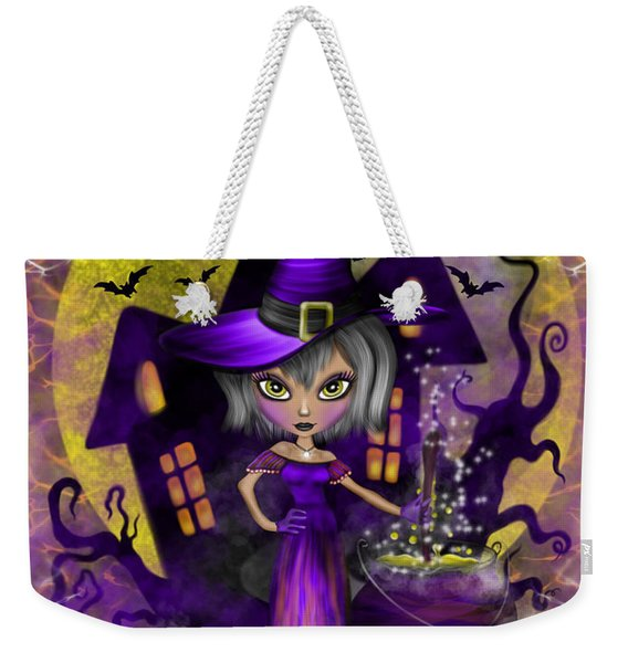 Wisdom Witch Fantasy Art Weekender Tote Bag