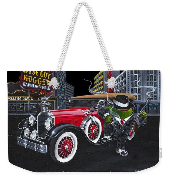 Wise Guy Weekender Tote Bag