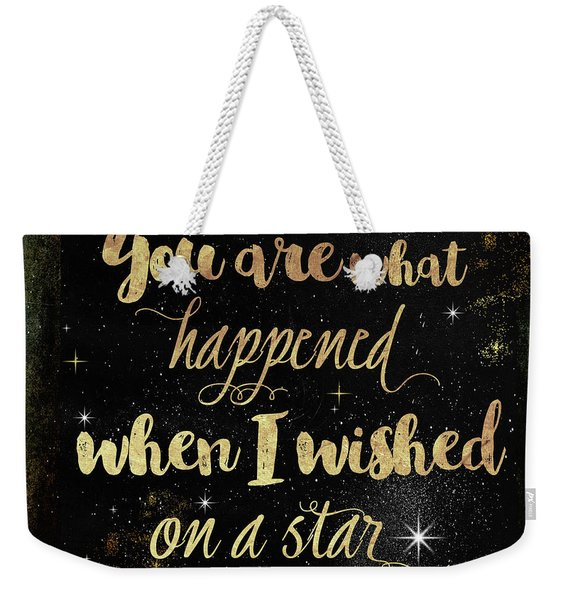 Wished On A Star Weekender Tote Bag