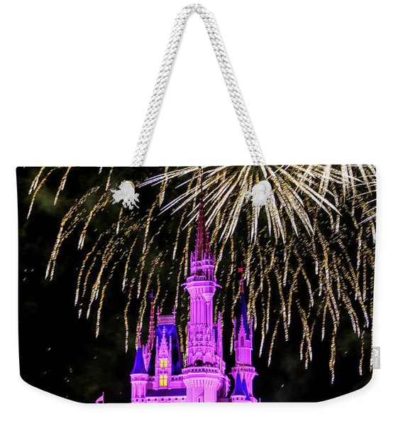 Wishes Fireworks Disney World  Weekender Tote Bag