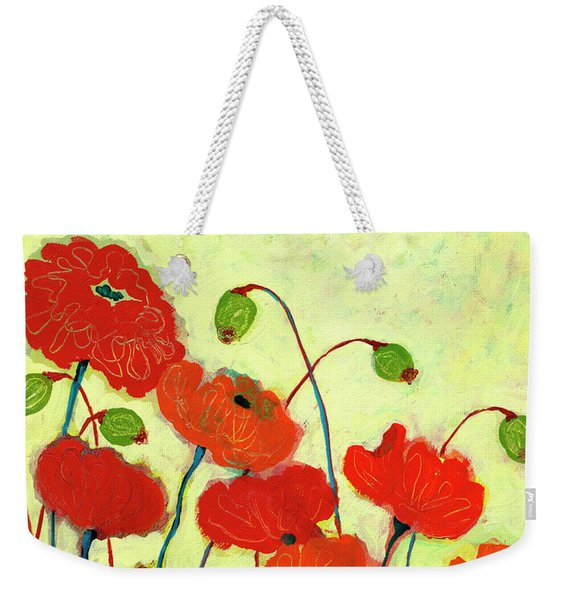 Wishful Blooming Weekender Tote Bag