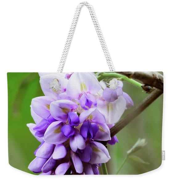 Wisteria Spring Weekender Tote Bag