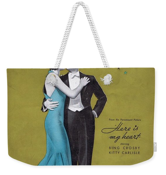 With Every Breath I Take Weekender Tote Bag